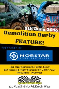 Demolition Derby June 2016